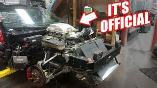 Supercharging Leroy Ep.3 - Blower Is On! (LSA LS1)