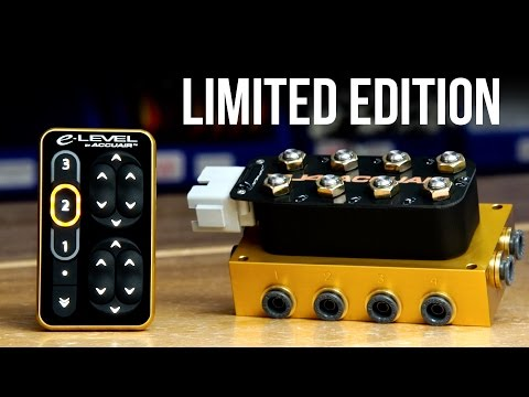 Limited Edition Gold | Touchpad and VU4