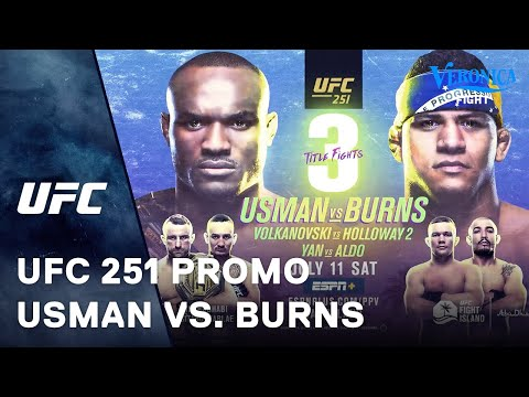 UFC 251 - Usman vs. Burns promo