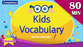 Kids vocabulary compilation - Words Theme collection|English educational video for kids - YouTube