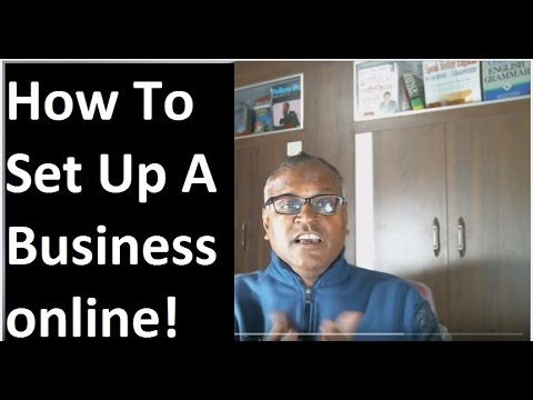 How to set up a successful business online!set up a successful business online!