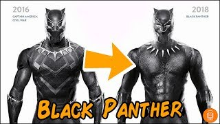 Black Panther MCU Suit Comparison & Breakdown