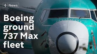 Entire Boeing 737 Max aircraft fleet grounded