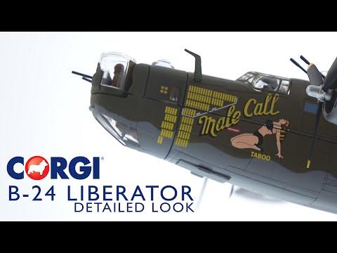 Corgi 1:72 B-24 Liberator 'Male Call' 453rd Bombardment Group 8th AF 1944 - Jimmy Stewart