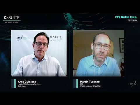 Video: Martin Turenne, CEO & President, FPX Nickel Corporation