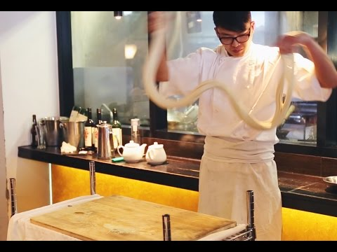 A lesson in making Chinese hand-pulled noodles (lamian)