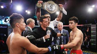 MMA | Pelea Título Mundial Peso Gallo | José Alday vs Gustavo López