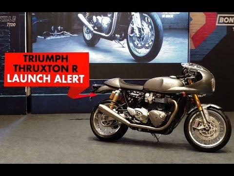 Triumph Thruxton R : Launch Alert : PowerDrift