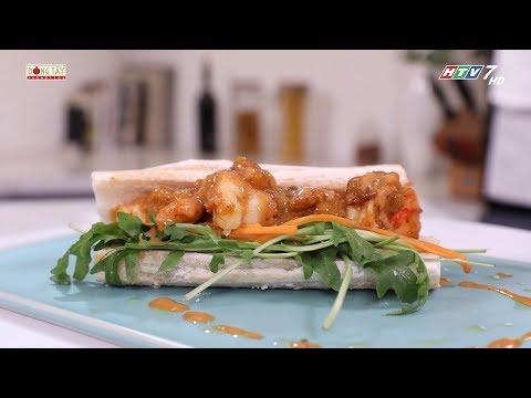 Công thức món sandwich TÔM XỐT XOÀI vừa ngon vừa đủ chất | Khi Chàng Vào Bếp - Mùa 2