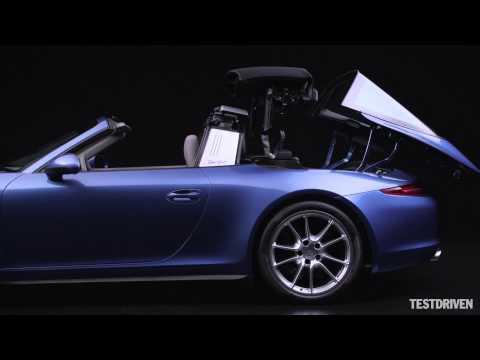 Składany dach w Porsche 911 Targa