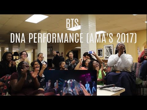 ASA reacts to AMA's (BTS Performance!)