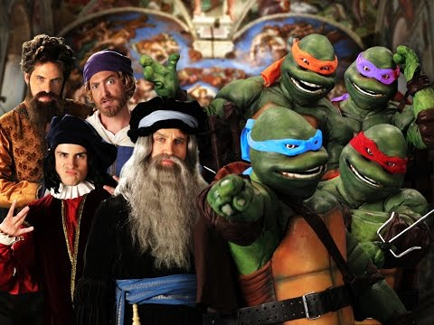 Baixar Artists vs TMNT. Epic Rap Battles of History Season 3 Finale.
