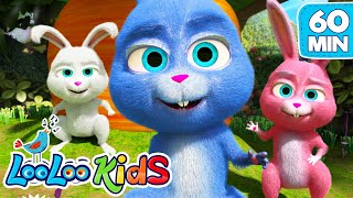 Sleeping Bunnies - Lovely Songs for Children | LooLoo Kids - YouTube