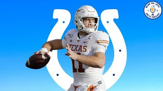 COLTS FAN REACTS TO INDIANAPOLIS COLTS SELECTING SAM EHLINGER WITH PICK #218. WHAT DOES THIS MEAN??