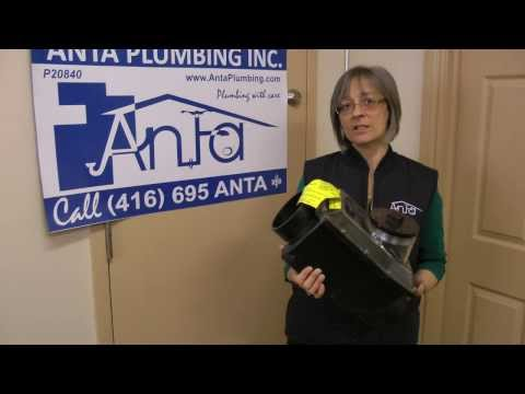 Backwater Valve Installation  - Sewer mainline - Toronto -  Anta Plumbing 416.231.3331