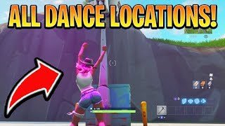 DANCE UNDER DIFFERENT STREETLIGHT SPOTLIGHT ALL LOCATIONS! (Season 6 Week 1 Challenges)