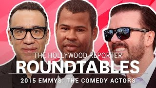 Raw, Uncensored: THR's Full, Comedy Actor Roundtable With Ricky Gervais, Jordan Peele and More
