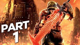 DOOM ETERNAL THE ANCIENT GODS Walkthrough Gameplay Part 1 - INTRO (DLC)