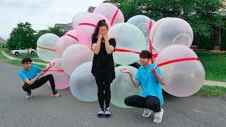 GIANT WUBBLE BUBBLE CAR PRANK!