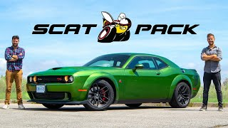 2020 Dodge Challenger R/T Scat Pack WIDEBODY Review // The Sweet Spot