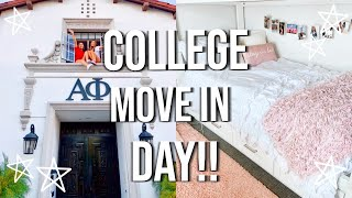 COLLEGE MOVE IN DAY!! // SORORITY HOUSE AT THE UNIVERSITY OF ARIZONA!!