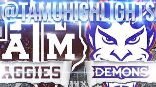 Texas A&M Highlights vs Northwestern State 08-30-2018 ??