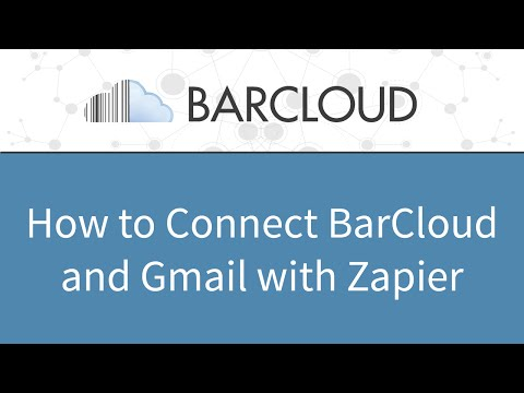 How to Integrate BarCloud and Gmail with Zapier