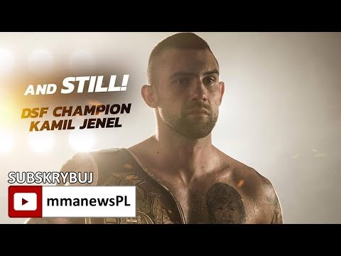 DSF Challenge 16: Kamil Jenel obronił pas low kickami i czeka na wrześniową walkę z Rutą