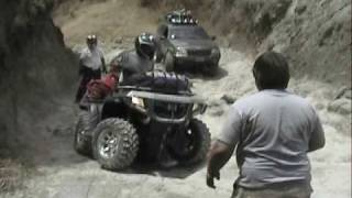 Cuatrimoto contra jeep