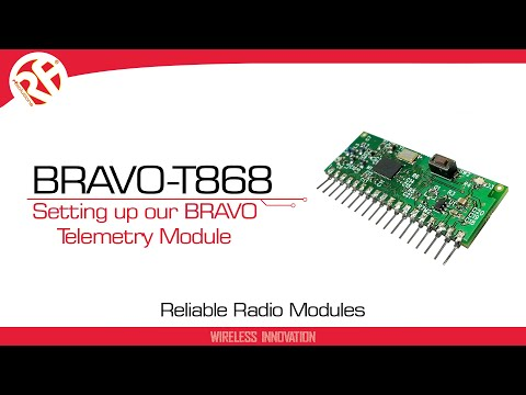 BRAVO-T 8 CHANNEL TRANSCEIVER TELEMETRY MODULE 1000M