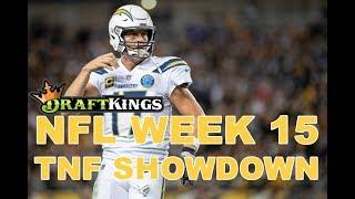 Week 15 NFL Thursday Night Football DraftKings Showdown Picks Chargers-Chiefs - Awesemo.com