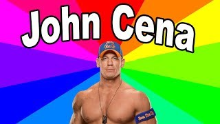 What is unexpected John Cena? A Look at the origin of the memes of John Cena