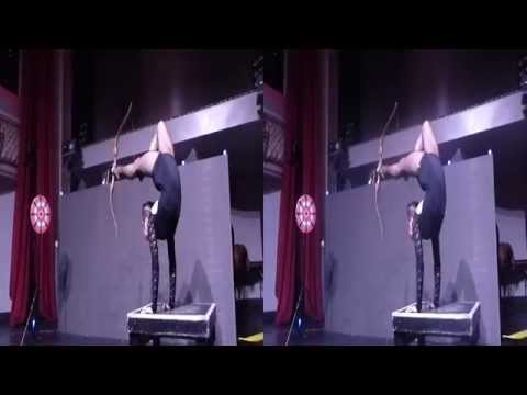 Contortionist Performer @ Casual Connect Opening Night Party(YT3D:Enabled=True)