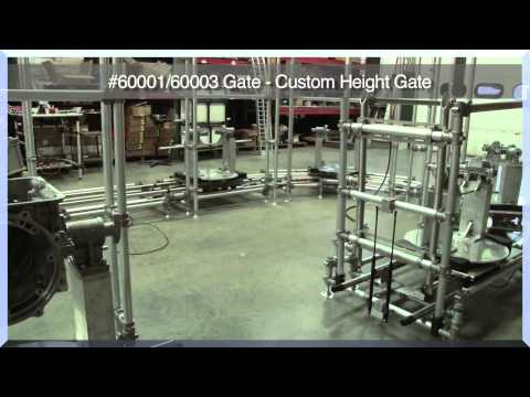 Fleximate Transport Cell Line Gate