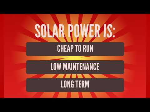 What Are the Advantages of Solar Power?
