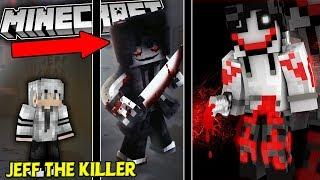 """QUÁ KHỨ CỦA """"JEFF THE KILLER"""" KẺ SÁT NHÂN TRONG MINECRAFT !!"""