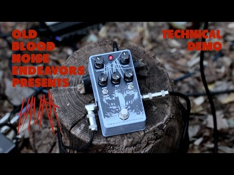 Old Blood Noise Endeavors Haunt Fuzz Pedal