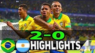 Kết quả Brazil vs Argentina 2-0 -  Bán kết Copa America 2019 - 7h30 ngày 3/7