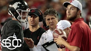 Mike Leach proud of his team after upset win over USC | SportsCenter | ESPN