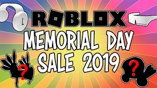 MEMORIAL DAY SALE 2019 COMING THIS WEEKEND TO ROBLOX