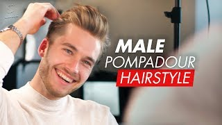Male Pompadour - Men's hairstyle for 2019
