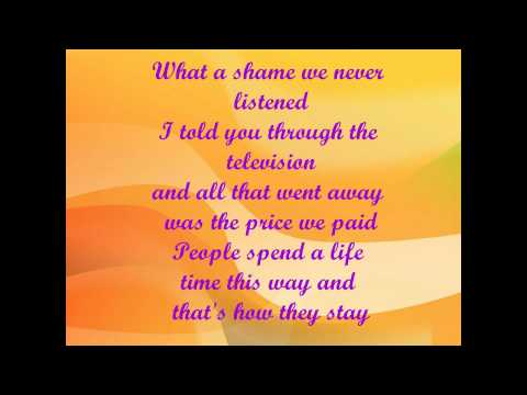 Robbie Williams and Gary Barlow Shame + Lyrics