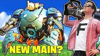 Wrecking Ball... MY NEW MAIN!? [Overwatch]