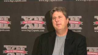 Texas Tech coach Mike Leach talks about technology