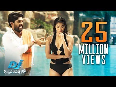 Pooja-Hegde-Swimming-Pool-Scene---DJ-Duvvada-Jagannadham