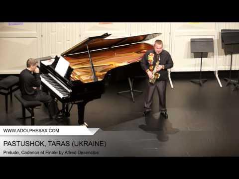 Dinant2014 PASTUSHOK Taras Prelude, Cadence et Finale by Alfred Desenclos