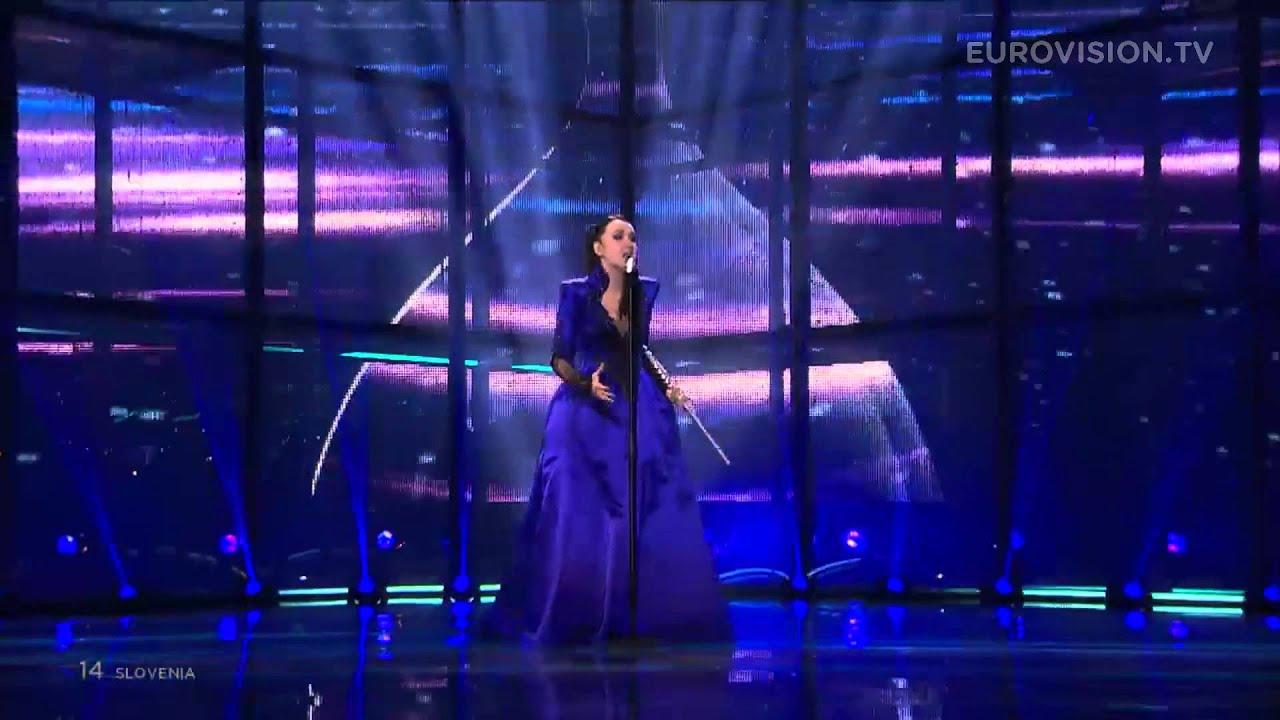 Eurovision Live: Round And Round (Slovenia) 2014 LIVE