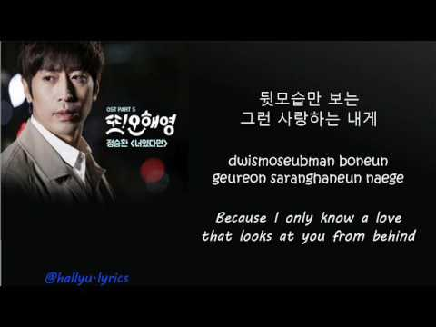 Jung Seung Hwan - If It Is You (Another Miss Oh OST) [lyric video]