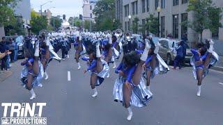 Jackson State University Marching Band & Prancing J-Settes | JSU Homecoming Parade 🔥