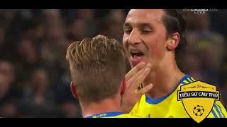 Lần Đầu RONALDO Gặp IBRAHIMOVIC - Ronaldo Đã Ghiền Nát Thụy Điển Của Ibra Như Thế Nào - Bóng đá hài